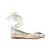 Ballerine con nastro alla caviglia mini-b, bianco, 329-1219 - 13