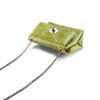Minibag in vera pelle bata, verde, 964-7269 - 17