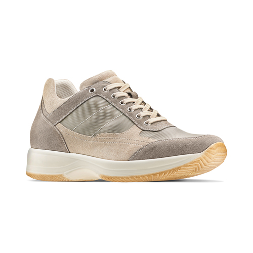 Sneakers casual da uomo bata, beige, 849-8162 - 13