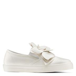 Sneakers con applicazioni bata, bianco, 541-1381 - 13