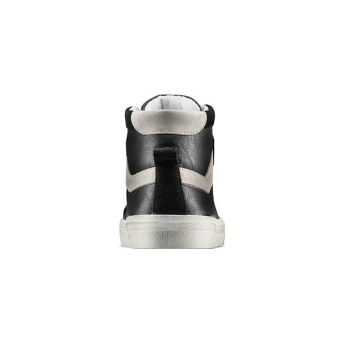 Sneakers alla caviglia bata, nero, 841-6406 - 15