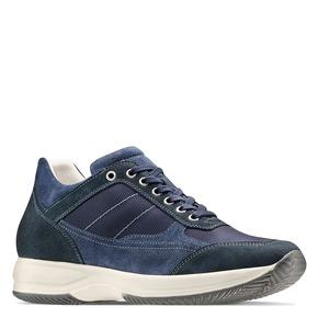 Sneakers casual da uomo bata, blu, 849-9162 - 13