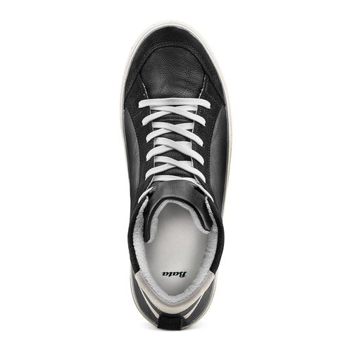 Sneakers alla caviglia bata, nero, 841-6406 - 17