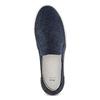 Slip on da uomo in suede bata, blu, 833-0134 - 17
