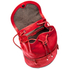 Zainetto in pelle bata, rosso, 964-5259 - 16