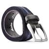 Cintura da uomo bata, blu, 959-9330 - 26