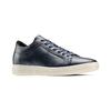 Sneakers in pelle bata, blu, 844-9137 - 13