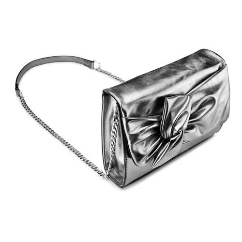 Tracolla da donna bata, grigio, 961-2401 - 17