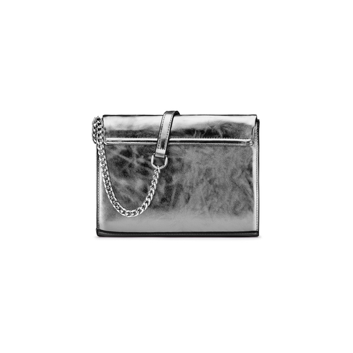 Tracolla da donna bata, grigio, 961-2401 - 26
