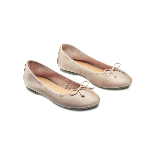 Ballerine da donna bata, beige, 524-8144 - 16