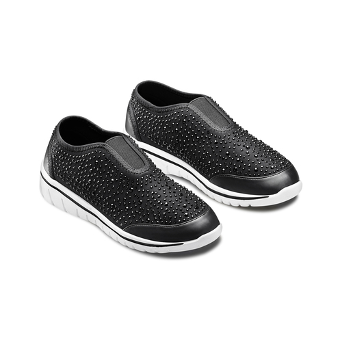 Slip on da donna north-star, nero, 539-6109 - 16