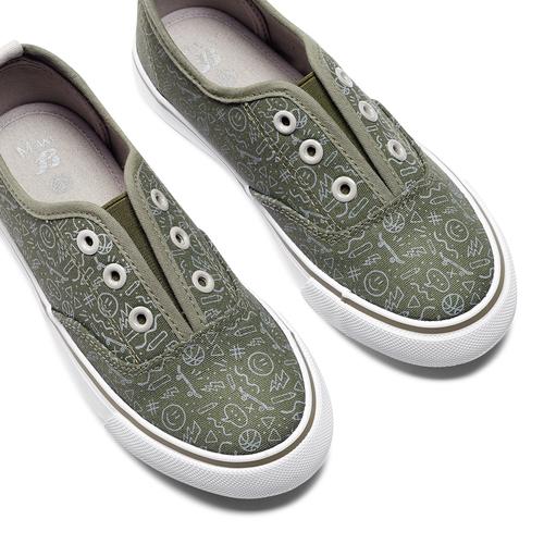 Slip on da bambino mini-b, verde, 319-7190 - 26