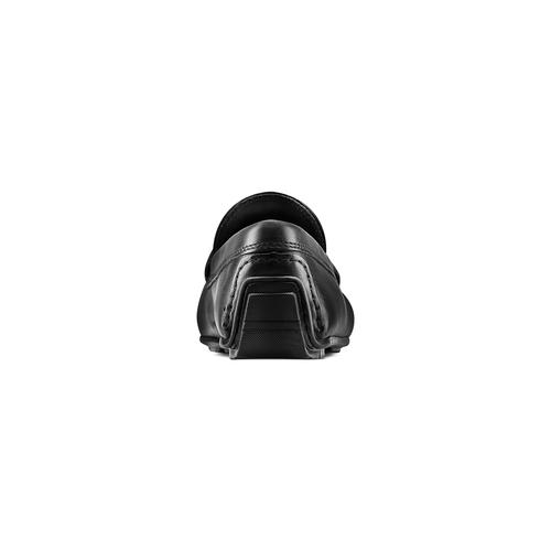 Mocassini in pelle bata, nero, 854-6178 - 15