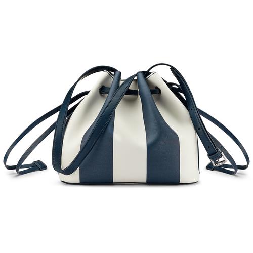 Borsa a secchiello bata, blu, 961-9390 - 26