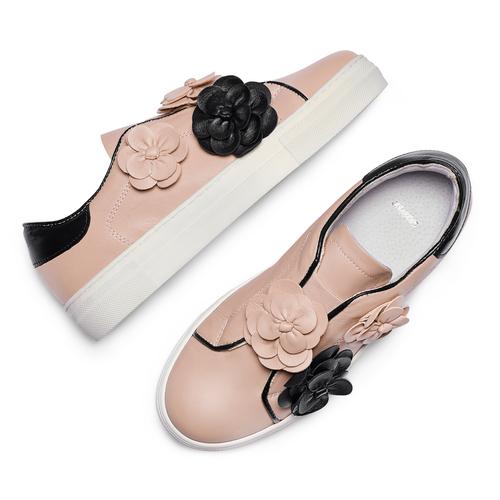Slip on da donna bata, rosa, 544-5374 - 26