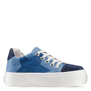 Sneakers con lacci elastici mini-b, blu, 219-9194 - 13