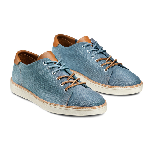 Sneakers casual  bata, blu, 849-9346 - 16