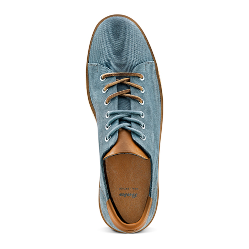 Sneakers casual  bata, blu, 849-9346 - 17