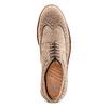 Stringate in suede bata-light, beige, 823-2279 - 17