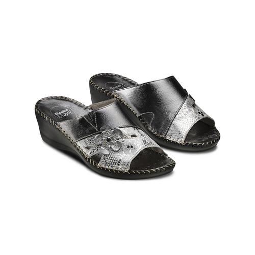 Ciabatte Comfit bata-comfit, nero, 674-1120 - 16