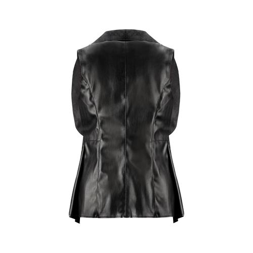 Gilet asimmetrico bata, nero, 971-6208 - 26