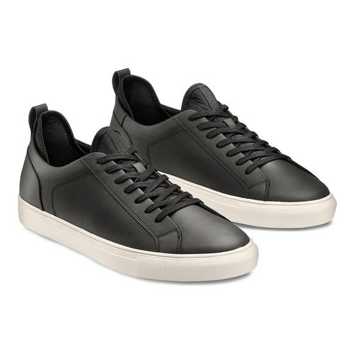 Sneakers in canvas bata-rl, nero, 841-6374 - 16