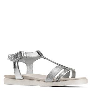Sandali da bambina mini-b, argento, 361-1171 - 13