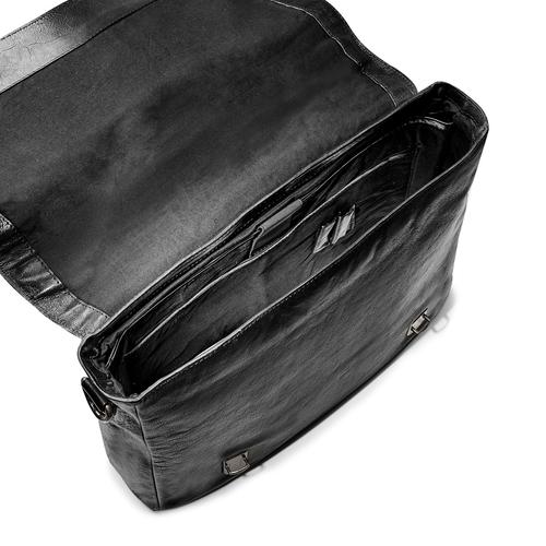 Borsa da lavoro in pelle bata, nero, 964-6255 - 16
