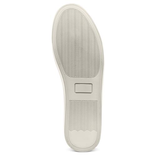 Sneakers in canvas bata-rl, nero, 841-6374 - 19