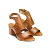Sandali in pelle bata, marrone, 764-3159 - 16