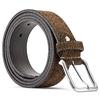 Cintura in suede bata, marrone, 953-4113 - 26