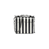 Borsa a righe verticali bata, nero, 961-6388 - 26