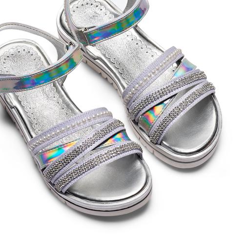 Sandali da bimba mini-b, argento, 361-1248 - 26