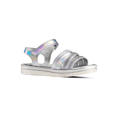 Sandali da bimba mini-b, argento, 361-1248 - 13