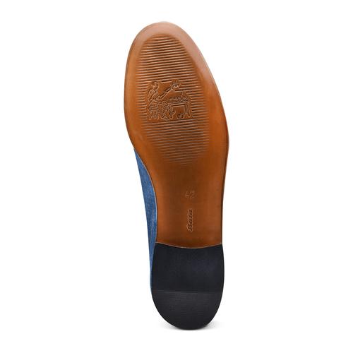Mocassini con nappa bata-the-shoemaker, blu, 853-9140 - 19