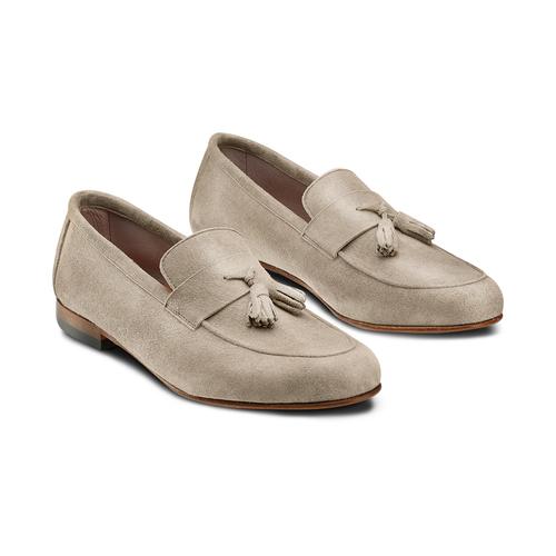 Mocassini con nappa bata-the-shoemaker, marrone, 853-3140 - 16