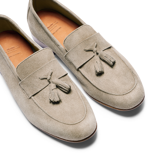 Mocassini con nappa bata-the-shoemaker, marrone, 853-3140 - 26