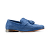 Mocassini con nappa bata-the-shoemaker, blu, 853-9140 - 13