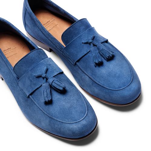 Mocassini con nappa bata-the-shoemaker, blu, 853-9140 - 26