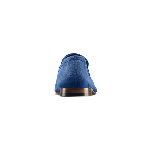Mocassini con nappa bata-the-shoemaker, blu, 853-9140 - 15