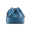 Borsa a secchiello bata, blu, 961-9314 - 26