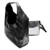 Hobo bag con trafori bata, nero, 961-6270 - 17