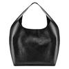Hobo bag con trafori bata, nero, 961-6270 - 26