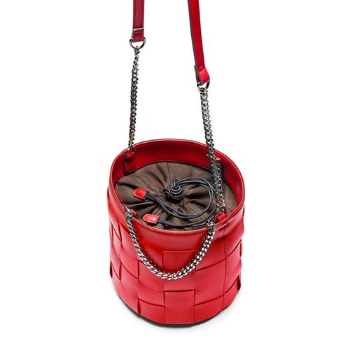 Borsa a secchiello bata, rosso, 961-5233 - 17