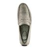 Mocassini in suede bata, grigio, 853-2171 - 17