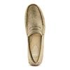 Mocassini in suede bata, beige, 853-8171 - 17