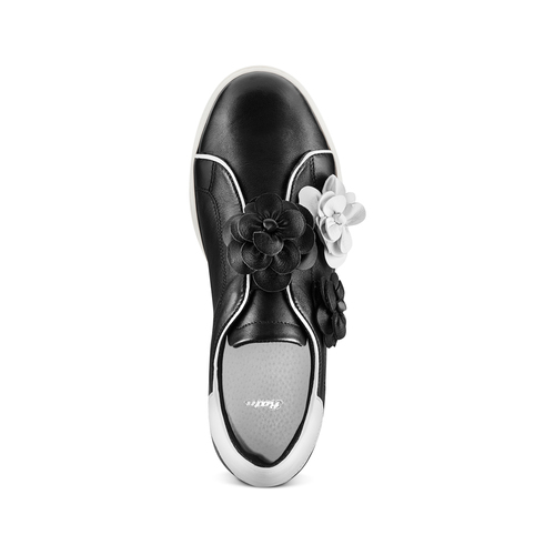 Sneakers senza lacci bata, nero, 544-6374 - 17