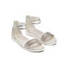 Sandali con strass mini-b, argento, 361-1166 - 16