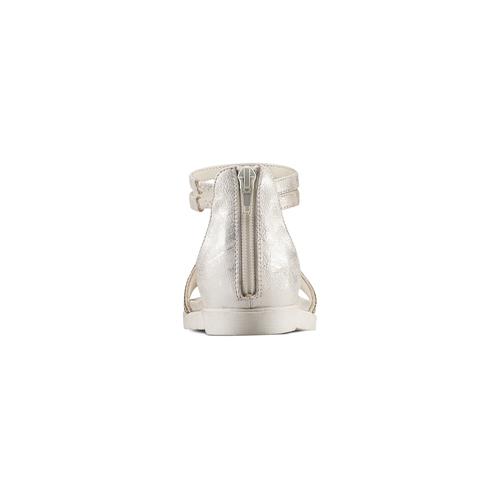 Sandali con strass mini-b, argento, 361-1166 - 15