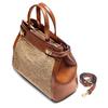 Shopper in raffia bata, beige, 969-8286 - 17
